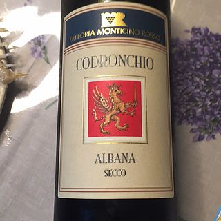 Fattoria Monticino Rosso Codronchio Albana di Romagna(ファットリア・モンティチーノ・ロッソ コドゥロンキォ アルバーナ・ディ・ロマーニャ)