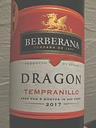 ベルベラーナ ドラゴン テンプラニーリョ(2017)