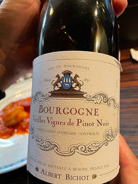 Albert Bichot Bourgogne Vieilles Vignes de Pinot Noir(アルベール・ビショー ブルゴーニュ ヴィエイユ・ヴィーニュ・ド・ピノ・ノワール)