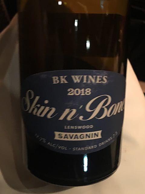 BK Wines Skin n' Bones Savagnin