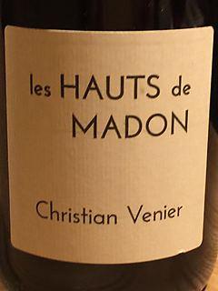 Christian Venier Les Hauts de Madon Rouge(クリスチャン・ヴニエ レ・オー・ド・マドン ルージュ)