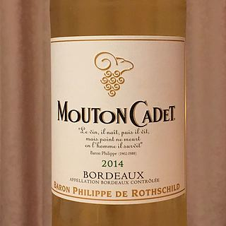 Mouton Cadet Bordeaux Blanc