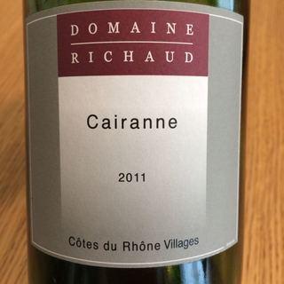 Dom. Richaud Cairanne Rouge