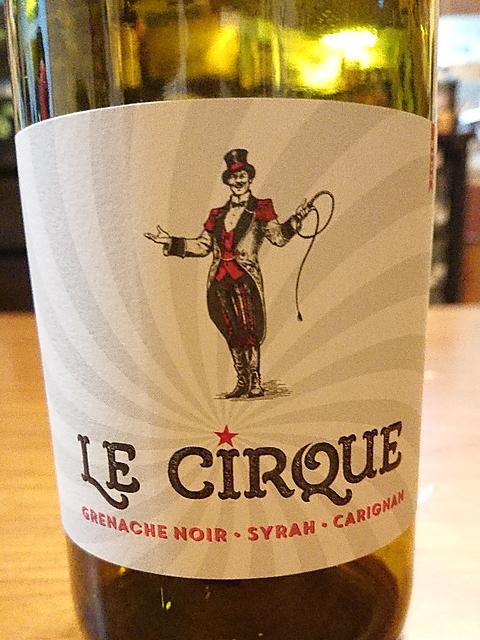 Le Cirque Rouge (Grenache Noir Syrah Carignan)(レ・シルク ルージュ グルナッシュ・ノワール シラー カリニャン)