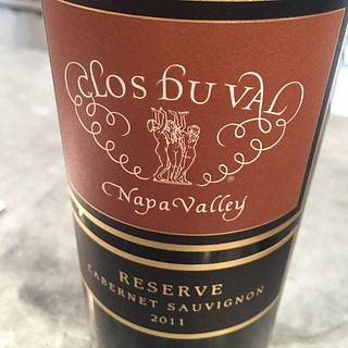 Clos Du Val Cabernet Sauvignon Reserve