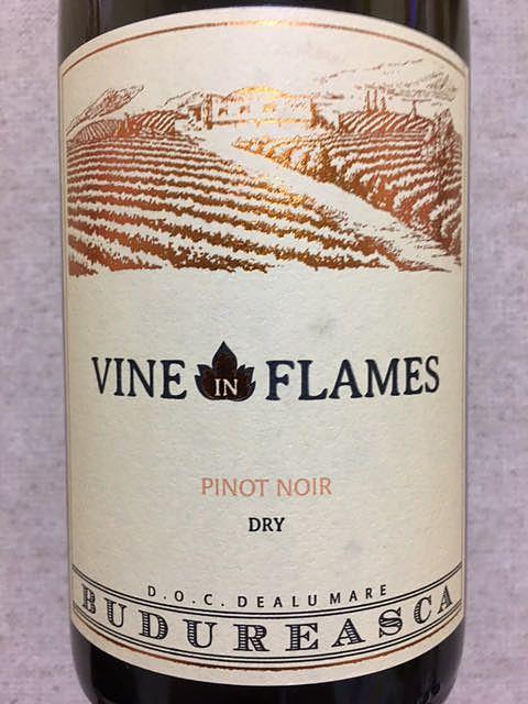 Budureasca Vine in Flames Pinot Noir