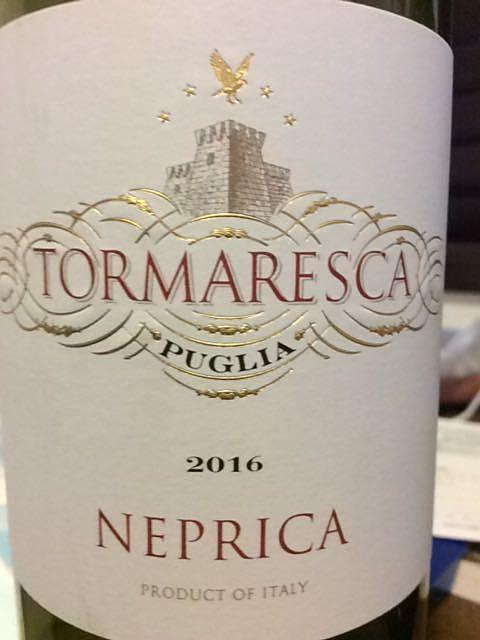 Tormaresca Nèprica Rosso(トルマレスカ ネプリカ ロッソ)