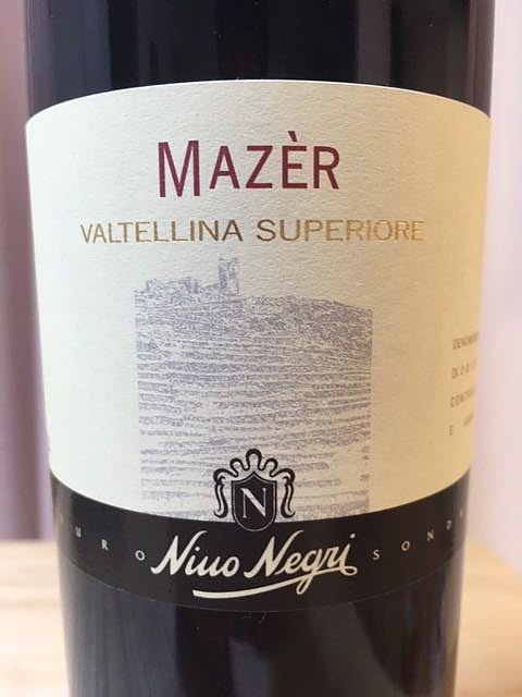 Nino Negri Mazer Inferno Valtellina Superiore