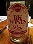 BK Wines Rosé(2017)
