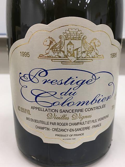 Prestige du Colombier Vieilles Vignes(プレステージュ・ドゥ・コロンビエール ヴィエイユ・ヴィーニュ)