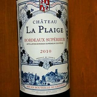 Ch. La Plaige Bordeaux Supérieur(シャトー・ラ・プレージュ ボルドー・シュペリュール)