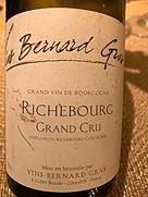 Vins Bernard Gras VBG Richebourg Grand Cru(2002)