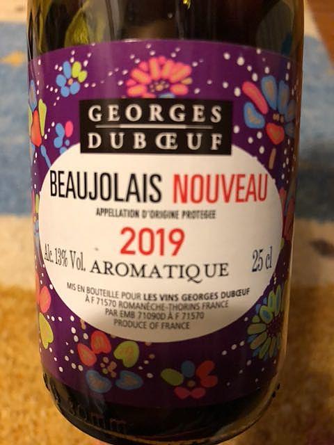 Georges Duboeuf Beaujolais Nouveau Aromatique