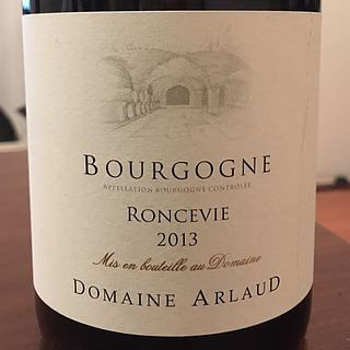 Dom. Arlaud Bourgogne Roncevie