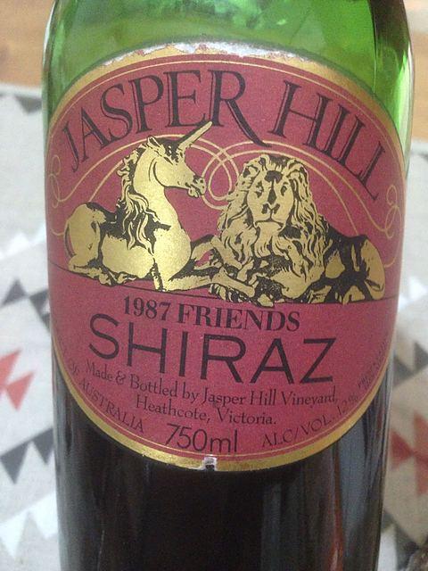 Jasper Hill Friends Shiraz
