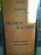 Valentin Morel Les Pieds Sur Terre Chardonnay Saint Savin(2015)