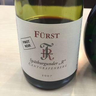 """Fürst Spätburgunder Centgrafenberg """"R"""""""