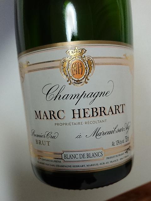 Marc Hébrart Blanc de Blancs Brut(マーク・エブラール ブラン・ド・ブラン ブリュット)