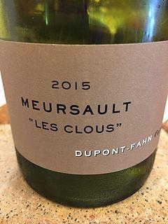 Dom. Dupont Fahn Meursault Les Clous