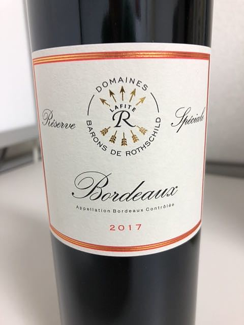 Dom. Barons de Rothschild Bordeaux Réserve Spéciale Rouge(ドメーヌ・バロン・ド・ロートシルト ボルドー レゼルヴ・スペシャル ルージュ)
