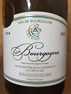 La Cave d'Azé Bourgogne Chardonnay Vin élevé en fût de chêne