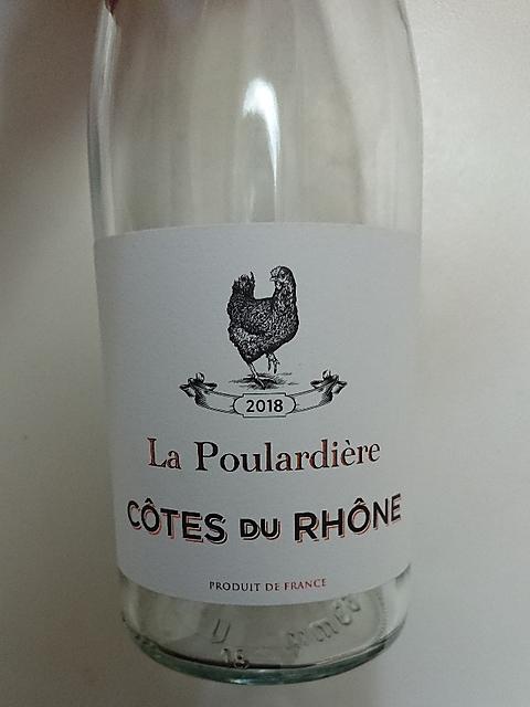 La Poulardière Côtes du Rhône Blanc(ラ・プラルディエール コート・デュ・ローヌ ブラン)