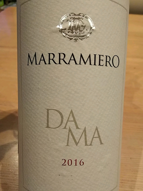 Marramiero Da Ma Montepulciano d'Aruzzo(マラミエーロ ダーマ モンテプルチャーノ・ダブルッツォ)