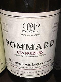 Dom. Louis Lequin Pommard Les Noizons(ドメーヌ・ルイ・ルカン ポマール レ・ノワゾン)