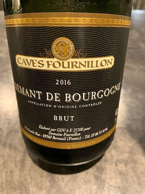 Dom. Fournillon Crémant de Bourgogne Brut(ドメーヌ・フルニヨン クレマン・ド・ブルゴーニュ)
