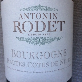 Antonin Rodet Bourgogne Hautes Côtes de Nuits Rouge