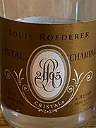 ルイ・ロデレール クリスタル ブリュット(2005)