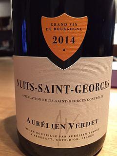 Aurélien Verdet Nuits Saint Georges
