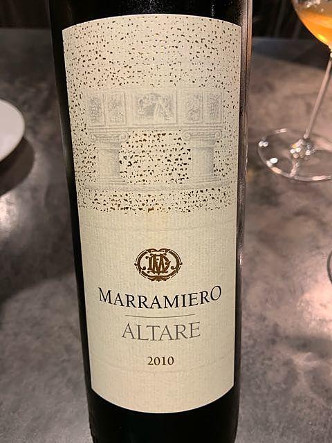 Marramiero Altare Trebbiano d'Abruzzo(マラミエーロ アルターレ トレッビアーノ・ダブルッツォ)