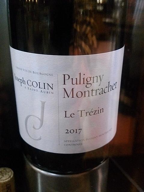 Joseph Colin Puligny Montrachet Le Trézin