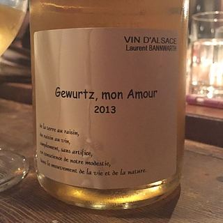 Laurent Bannwarth Gewurtz Mon Amour