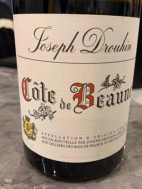 Joseph Drouhin Côte de Beaune Rouge(ジョゼフ・ドルーアン コート・ド・ボーヌ ルージュ)