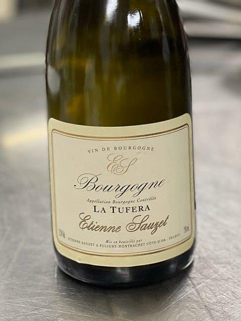 Etienne Sauzet Bourgogne La Tufera(エティエンヌ・ソゼ ブルゴーニュ ブラン ラ・トゥフェラ)