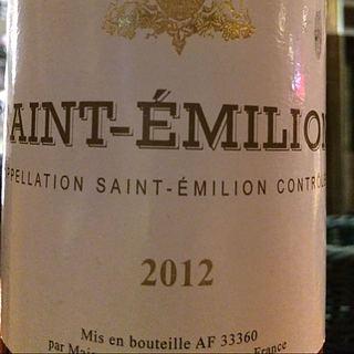 Sichel Saint Émilion