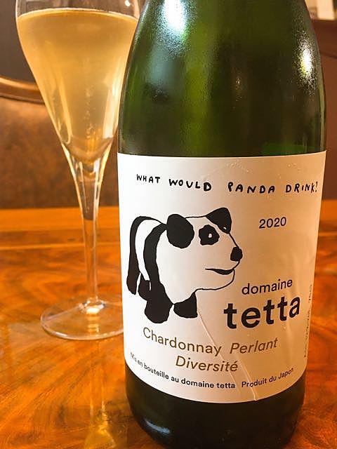 Dom. Tetta Chardonnay Perlant Diversité(ドメーヌ・テッタ シャルドネ・ペルラン ディベステ)