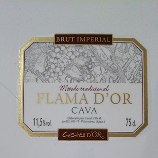 Flama d'Or Brut Imperial(フラマ・ドール ブリュット インペリアル)