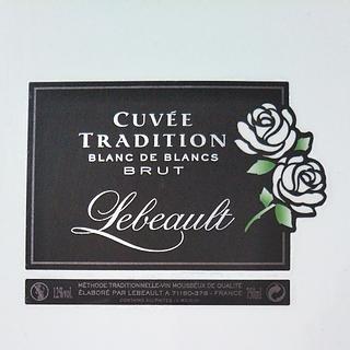 Lebeault Cuvée Tradition Blanc de Blancs Brut(ルボー キュヴェ・トラディション ブリュット ブラン・ド・ブラン)