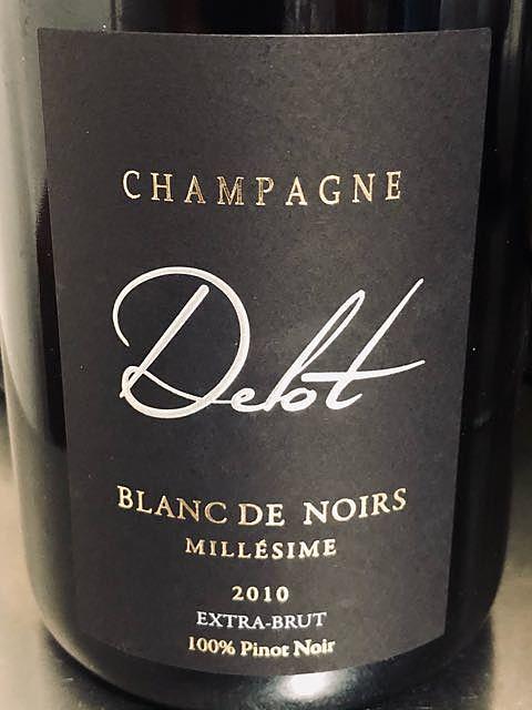 Champagne Delot Blanc de Noirs Millésimé 2008(シャンパーニュ・デロット ブラン・ド・ノワール ミレジメ)