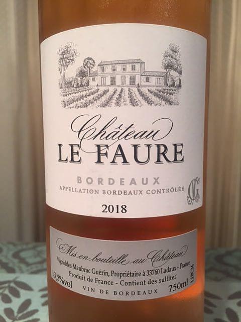 Ch. Le Faure Rosé
