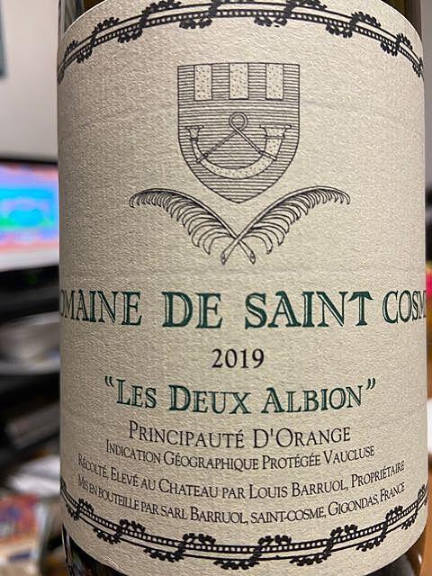 Dom. de Saint Cosme Les Deux Albion(ドメーヌ・ド・サンコム レ・ドゥー・アルビオン)