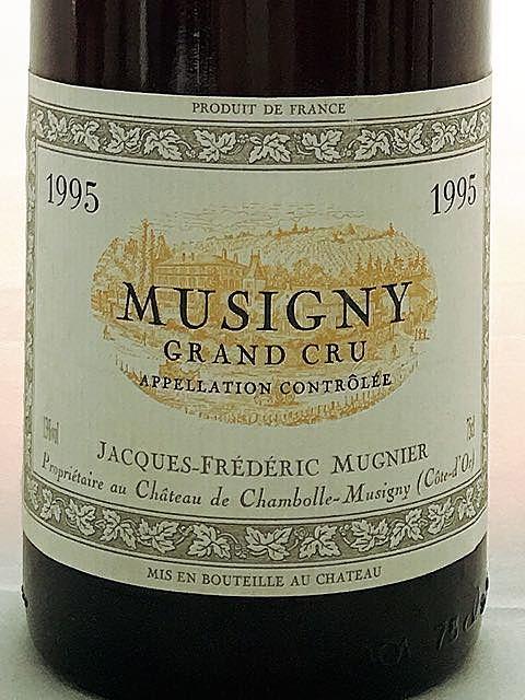 Jacques Frédéric Mugnier Musigny Grand Cru