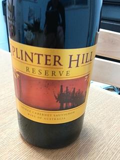 Splinter Hill Reserve Shiraz Cabernet Sauvignon(スプリンター・ヒル リザーヴ シラーズ カベルネ・ソーヴィニヨン)