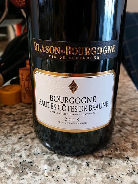 Blason de Bourgogne Bourgogne Hautes Côtes de Beaune Rouge(ブラゾン・ド・ブルゴーニュ ブルゴーニュ オート・コート・ド・ボーヌ ルージュ)