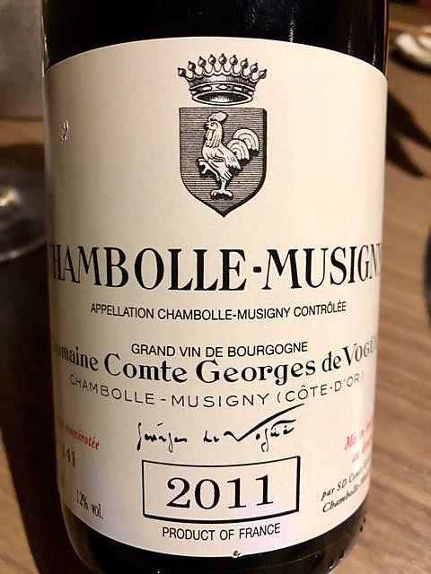 Dom. Comte Georges de Vogüé Chambolle Musigny