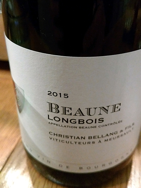 Christian Bellang & Fils Beaune Longbois(クリスチャン・ベラン・エ・フィス ボーヌ ロンボワ)