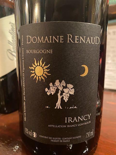 Dom. Renaud Irancy Rouge(ドメーヌ・ルノー イランシー ルージュ)